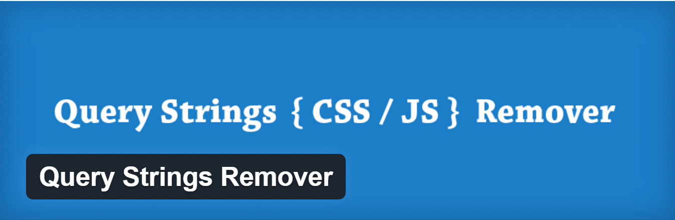 remove query string from url-plugin