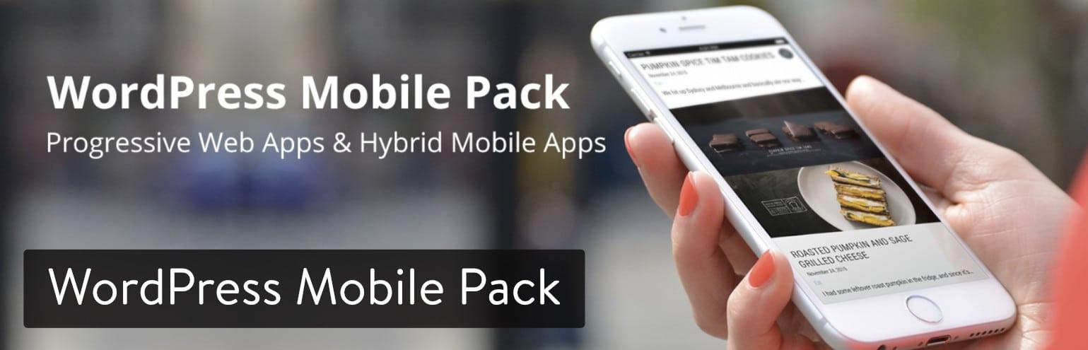 El plugin de WordPress Mobile Pack para WordPress