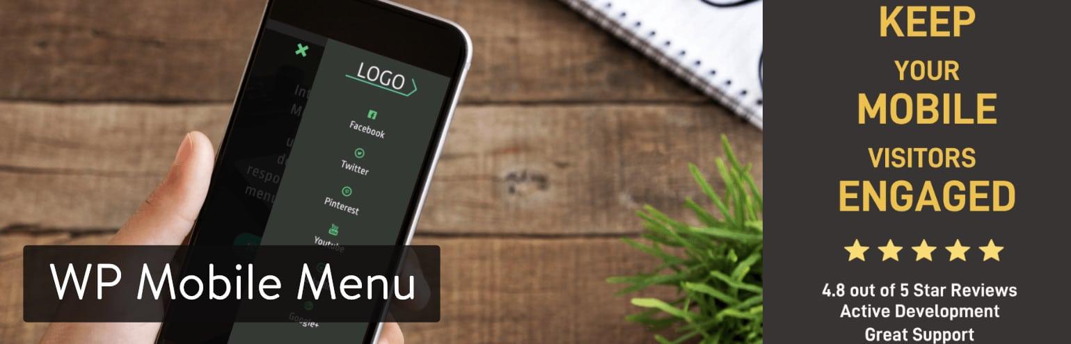 El plugin WP Mobile Menu para WordPress