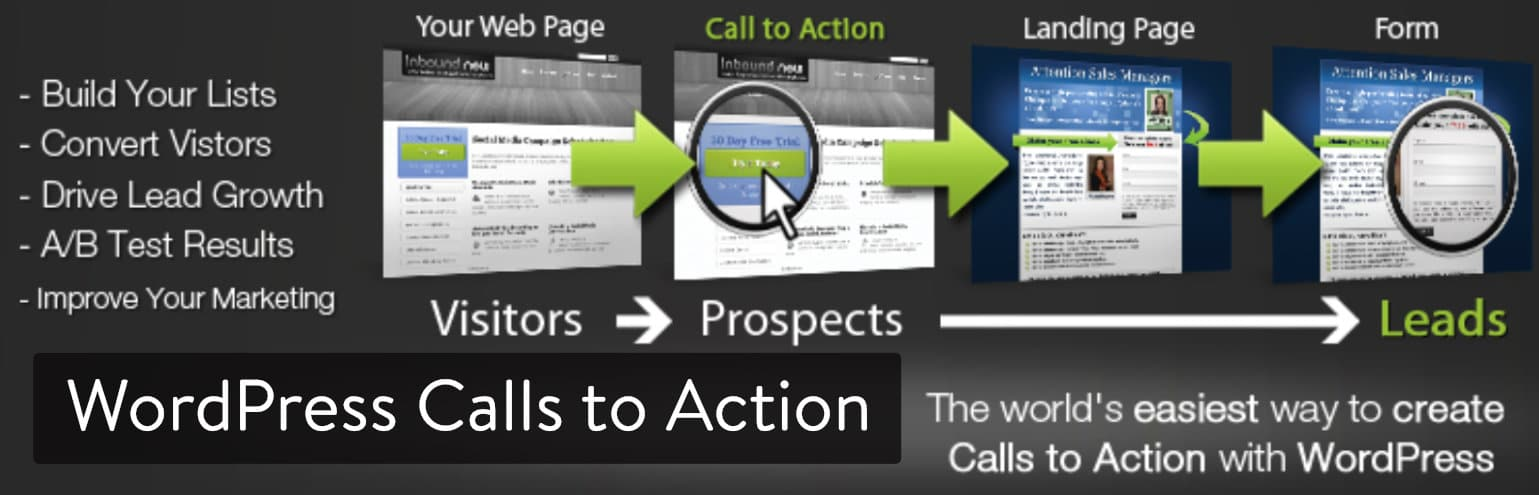 El plugin de WordPress Calls to Action