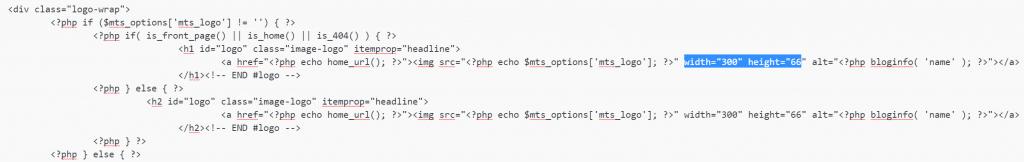 Cabecera modificada para SVG