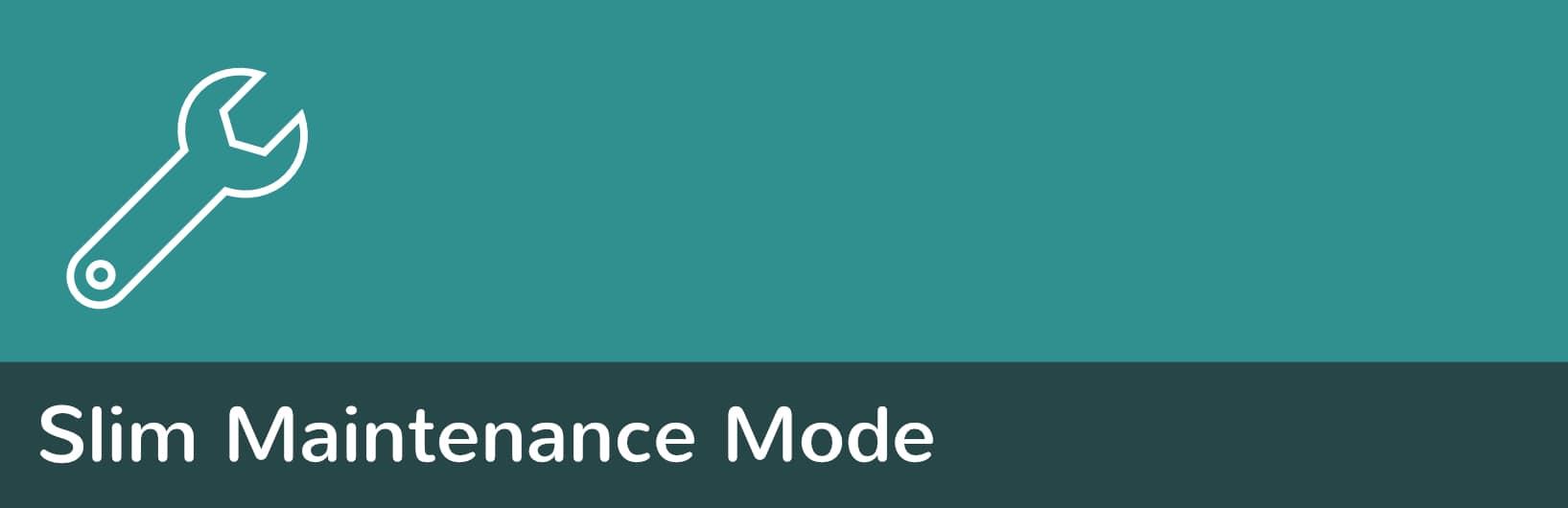 Plugin de Slim Maintenance Mode