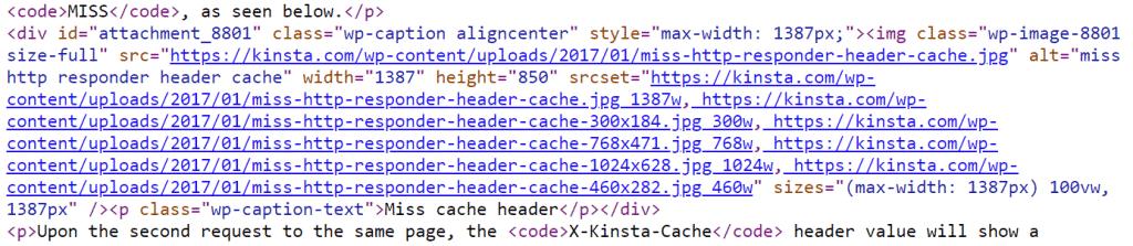 ejemplo de srcset imágenes receptivas en el código