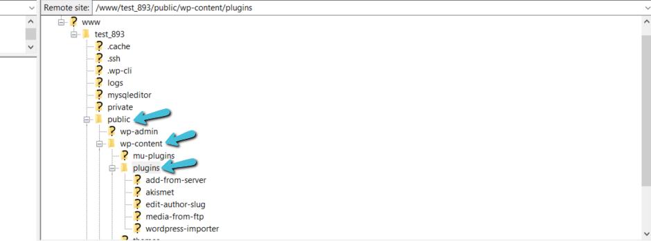 Directorio de WordPress plugins