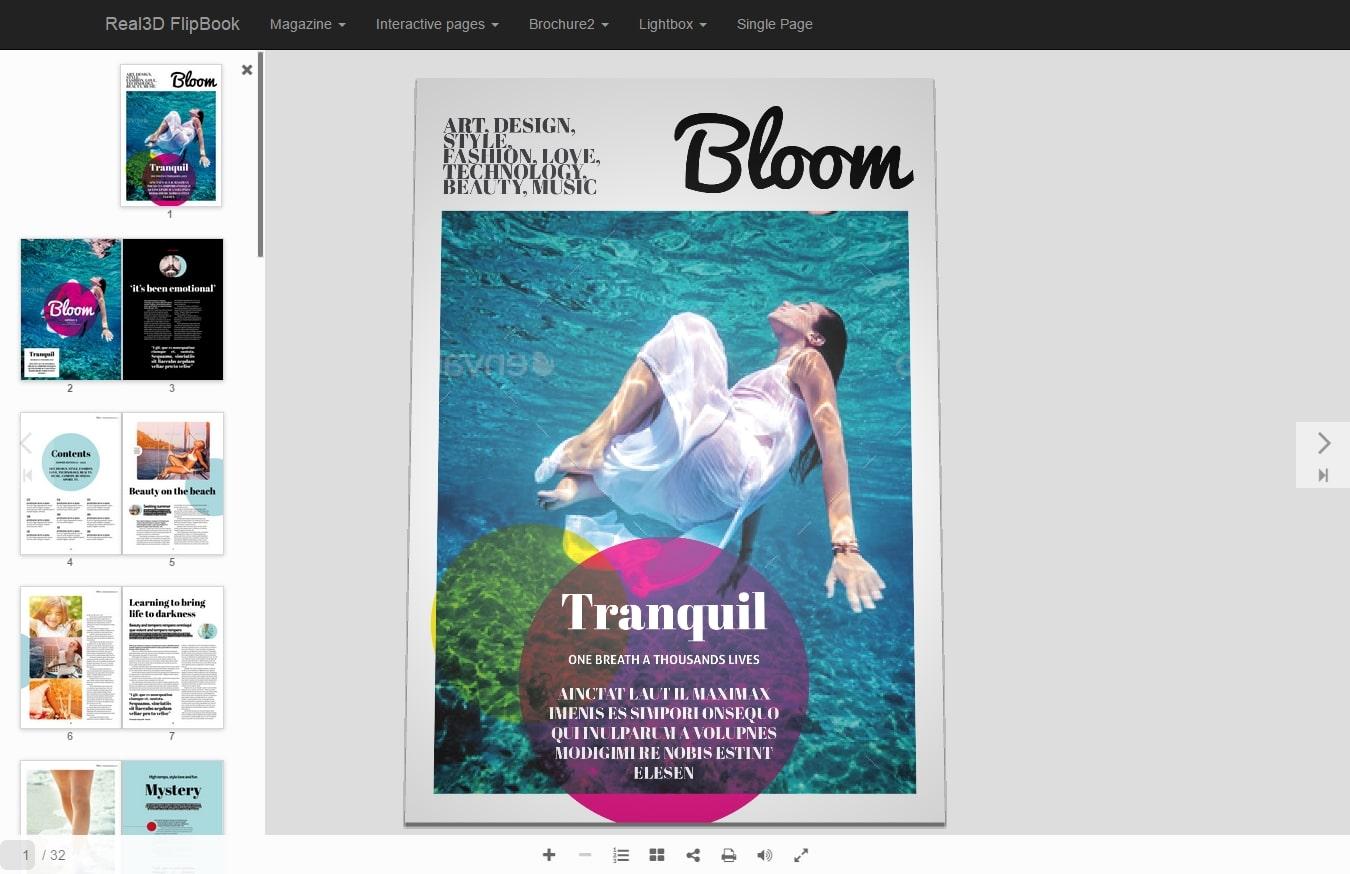 Visor de PDF de WordPress