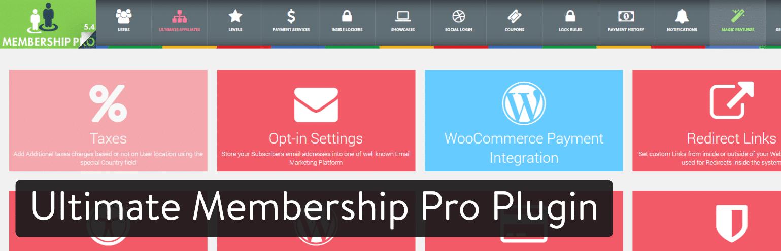 Plugin de membresía de WordPress:Ultimate Membership Pro WordPress Plugin