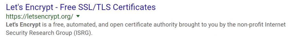 Un ejemplo de combinación de SSL y TLS