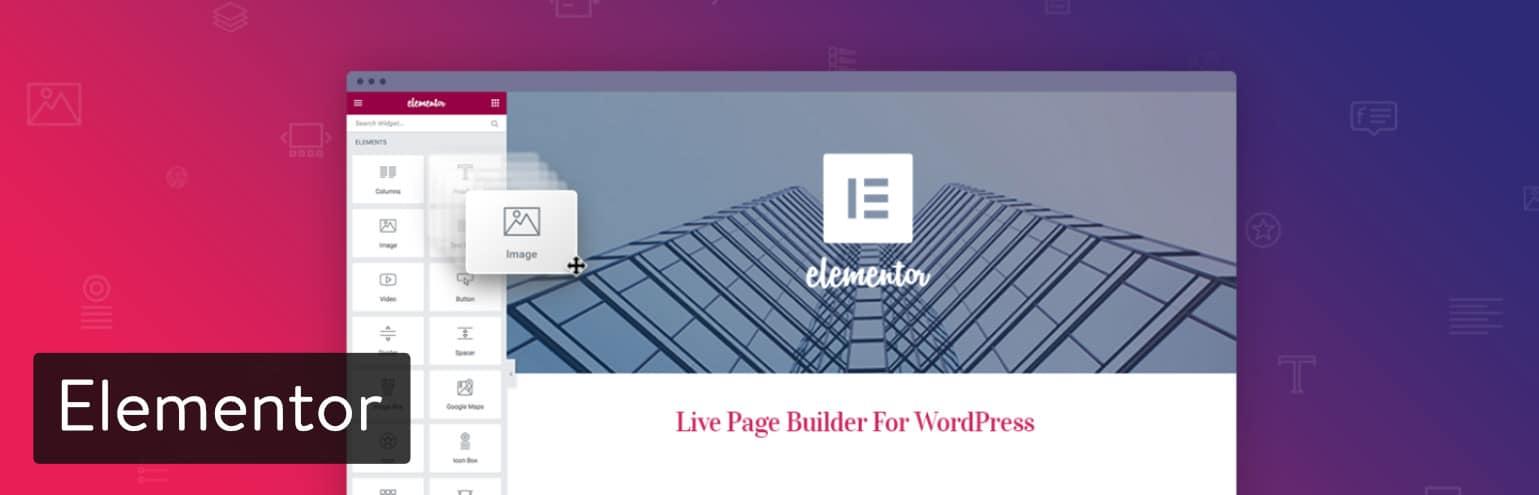 Constructor de páginas Elementor para WordPress