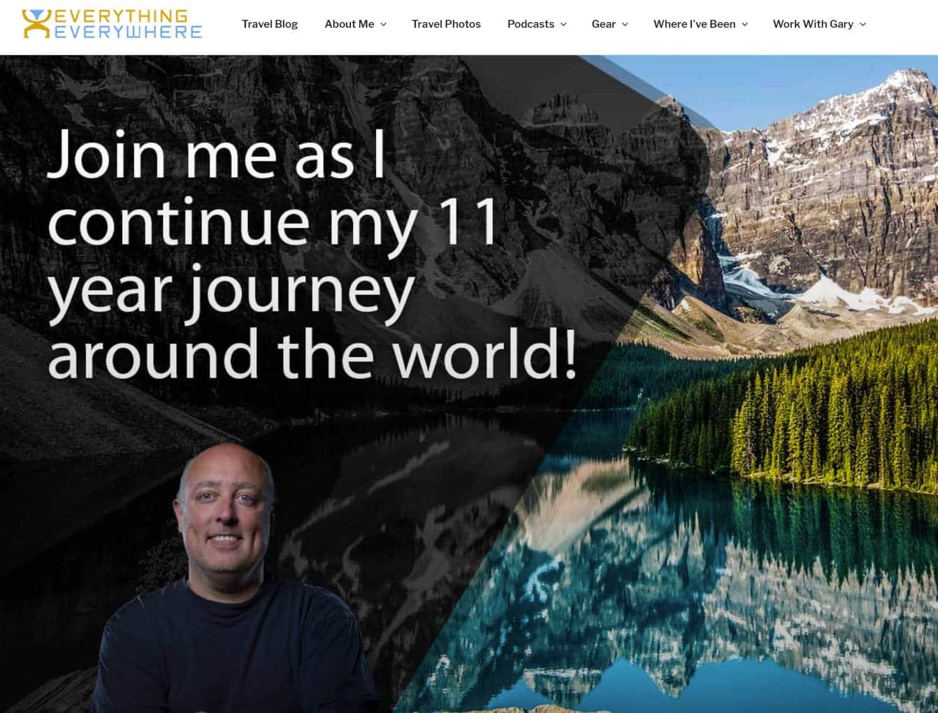 Travel blog alrededor del mundo