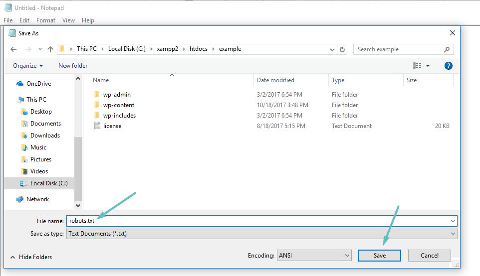 Cómo crear su propio archivo sobots.txt