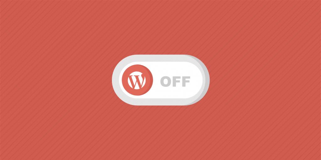 deshabilitar los plugins de wordpress