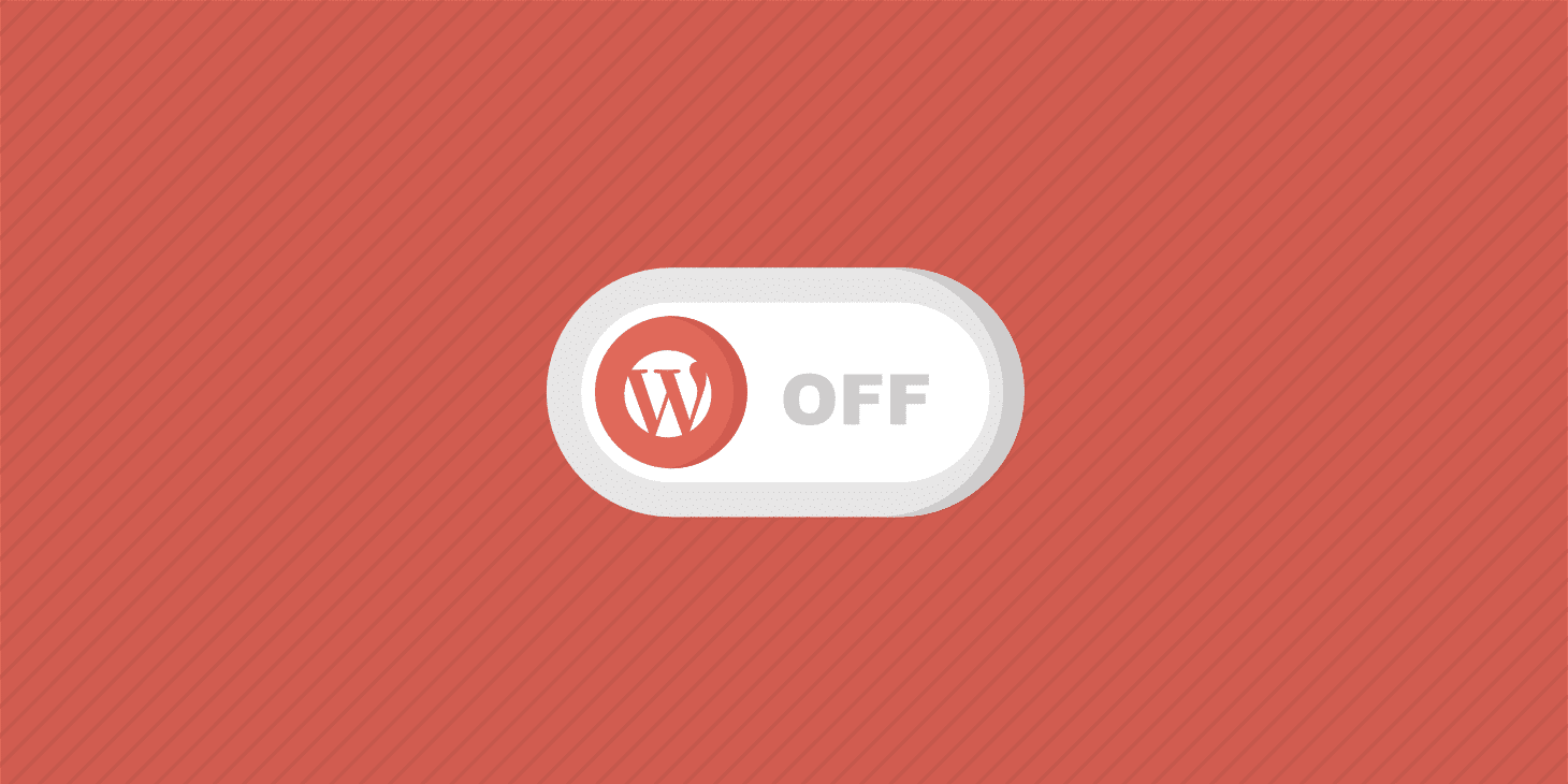 deshabilitar los plugins de wordpress
