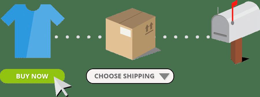 Comercio en línea simple