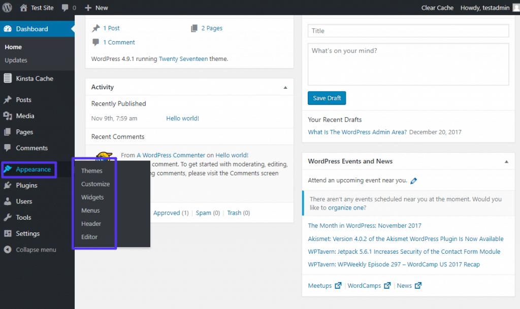 Como editar los temas de WordPress