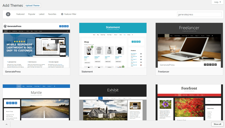 Cómo agregar un nuevo tema a WordPress