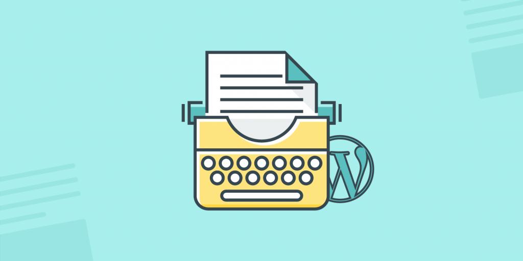 wordpress editor de texto