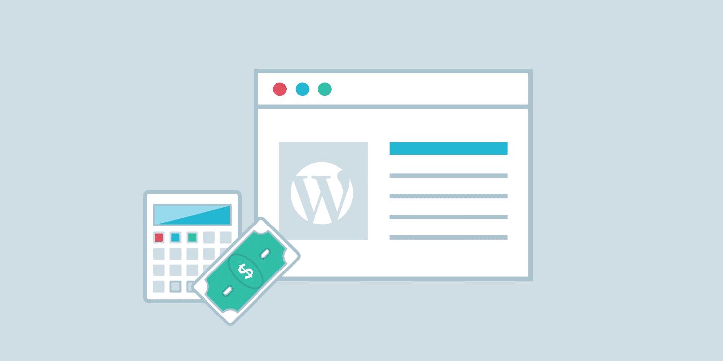 costo de un sitio WordPress