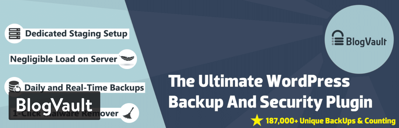 BlogVault plugin de backup para WordPress