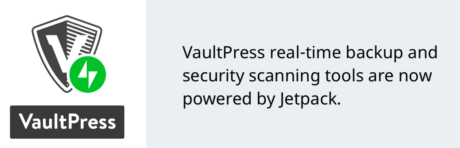 Plugin de backup de VaultPress para WordPress