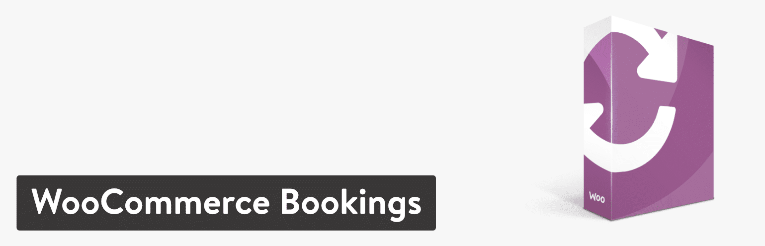 Plugin WooCommerce Bookings