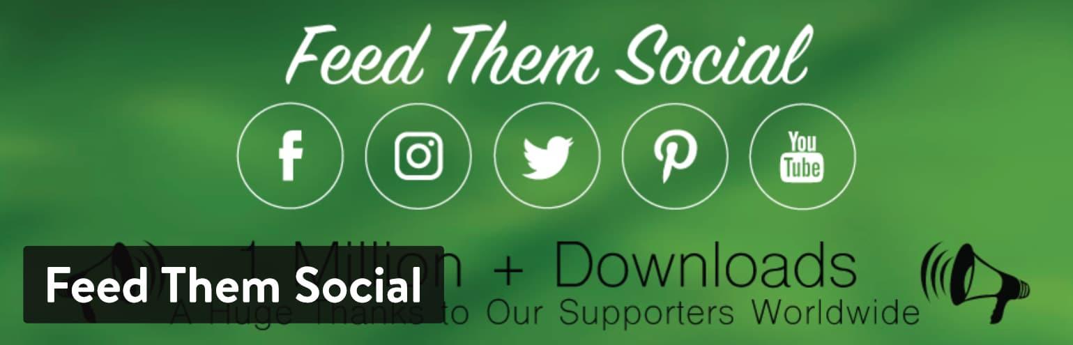 Feed Them Social WordPress plugin