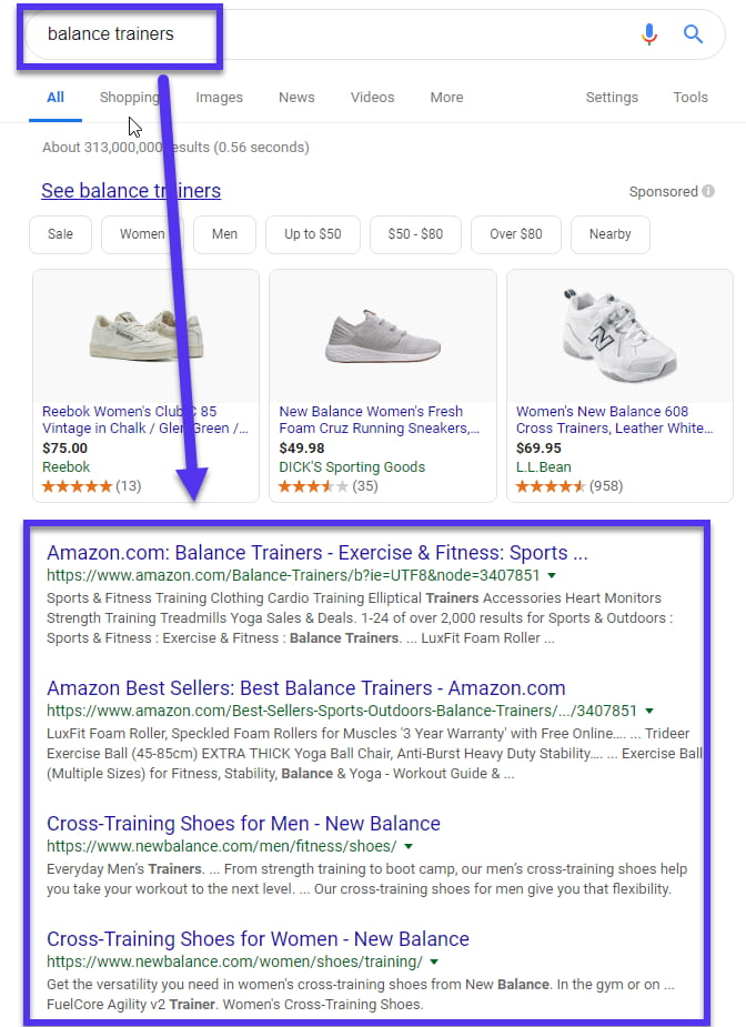 Retargeting en una red de búsqueda