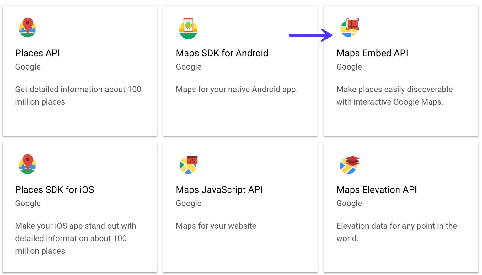 API Integrado de Google Maps