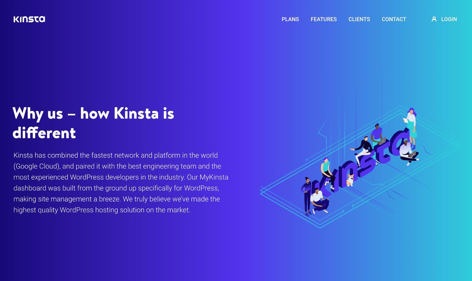 ¿Qué hace diferente a Kinsta?