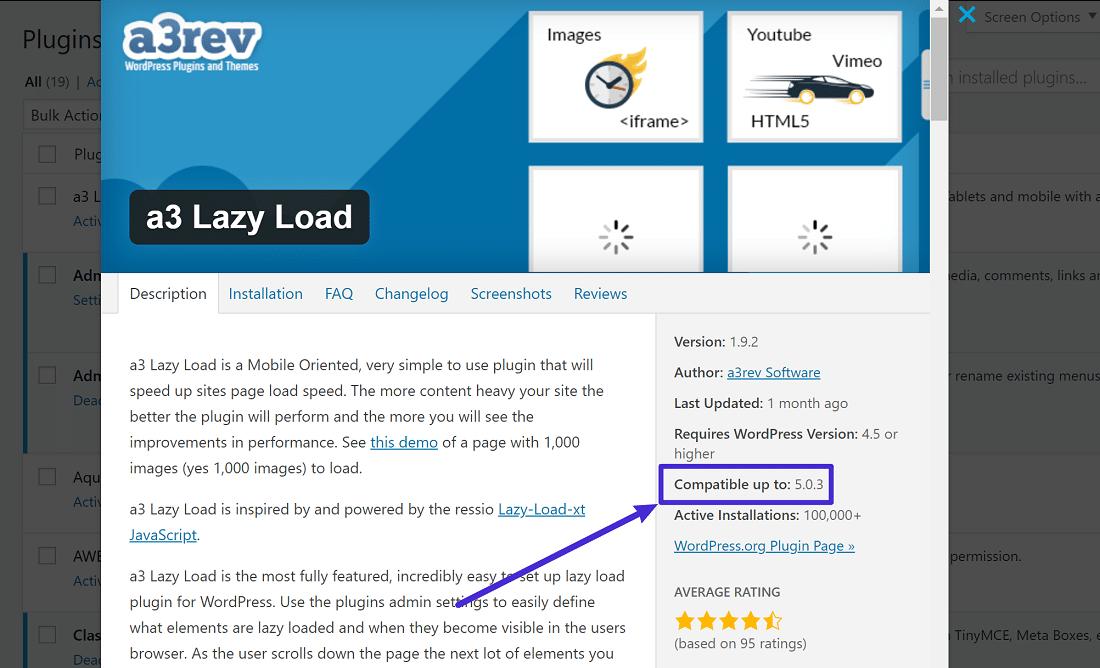 Cómo checar la compatibilidad del plugin o tema