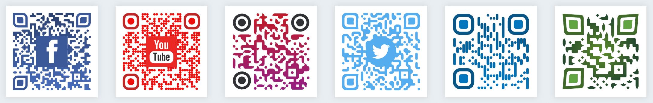 Color y marcas en los códigos QR