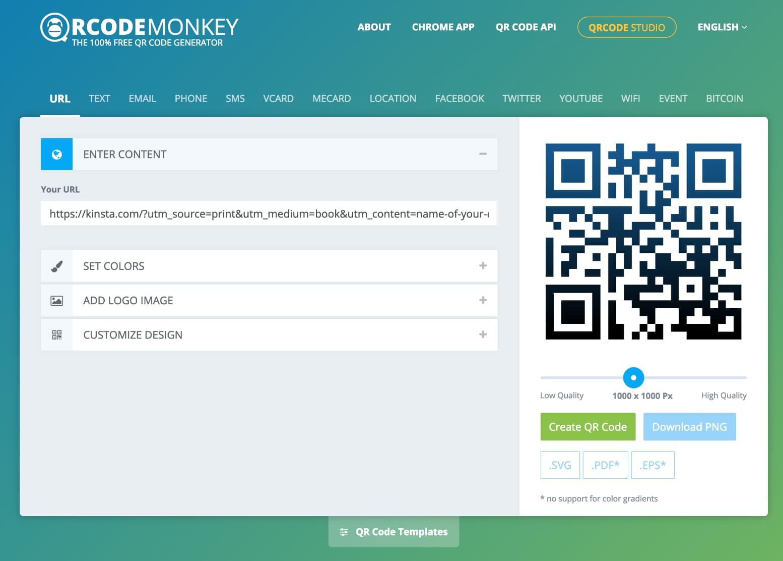 QRCode Monkey