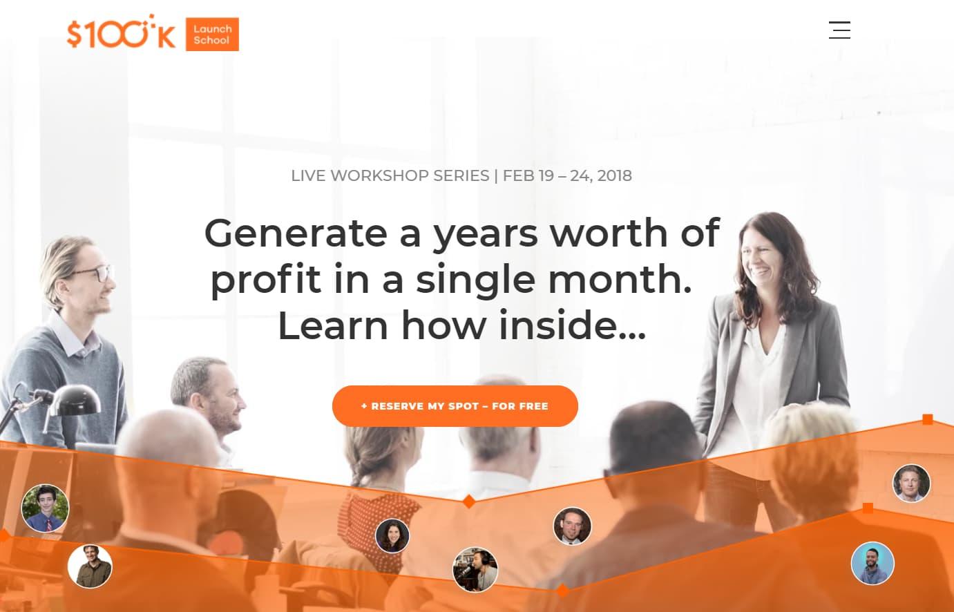 Conferencia $100k Launch School