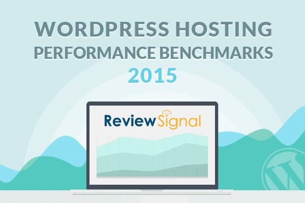 Benchmarks de desempeño de hosting de Review Signal para el 2015