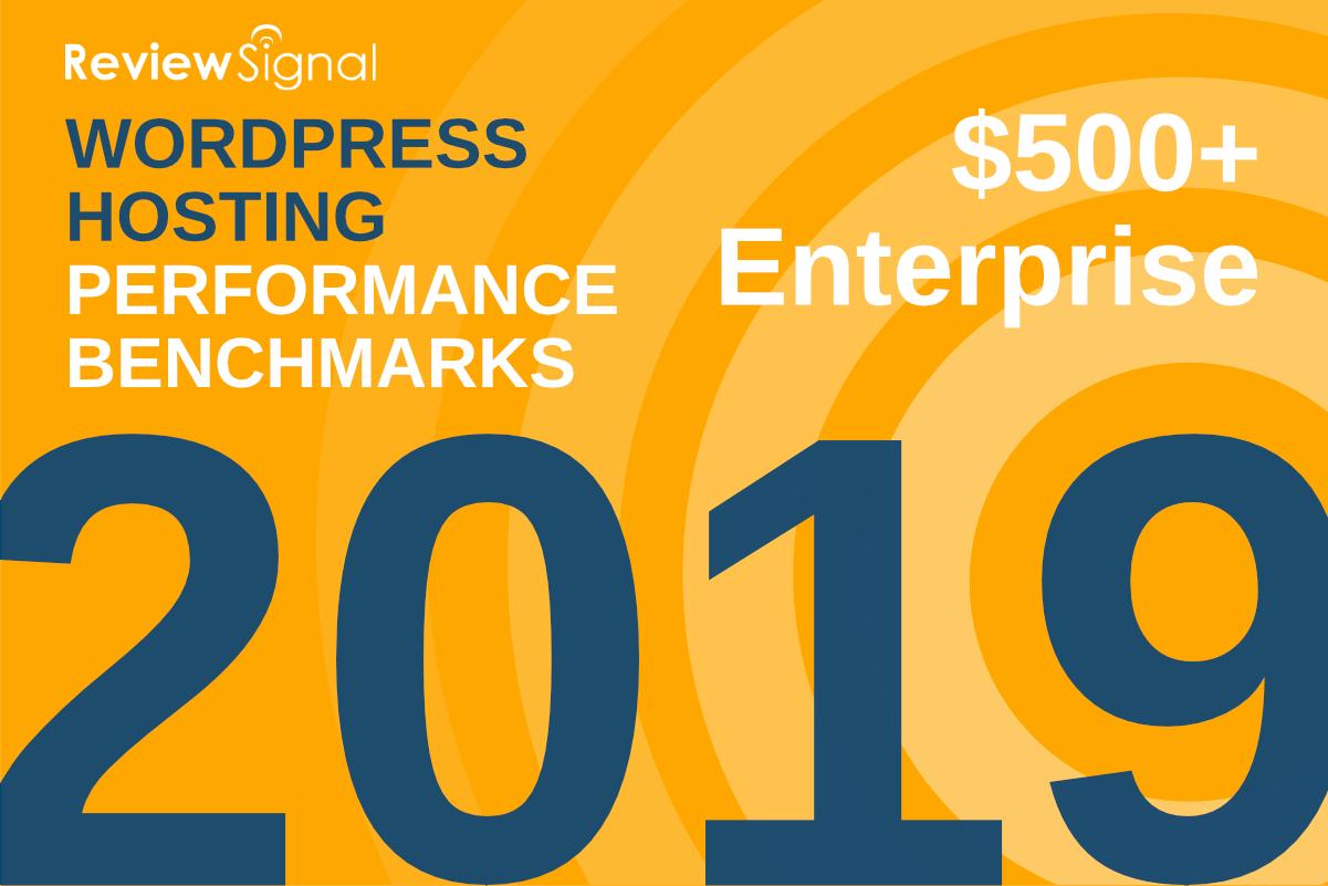 Benchmarks de desempeño de hosting de Review Signal para este 2019