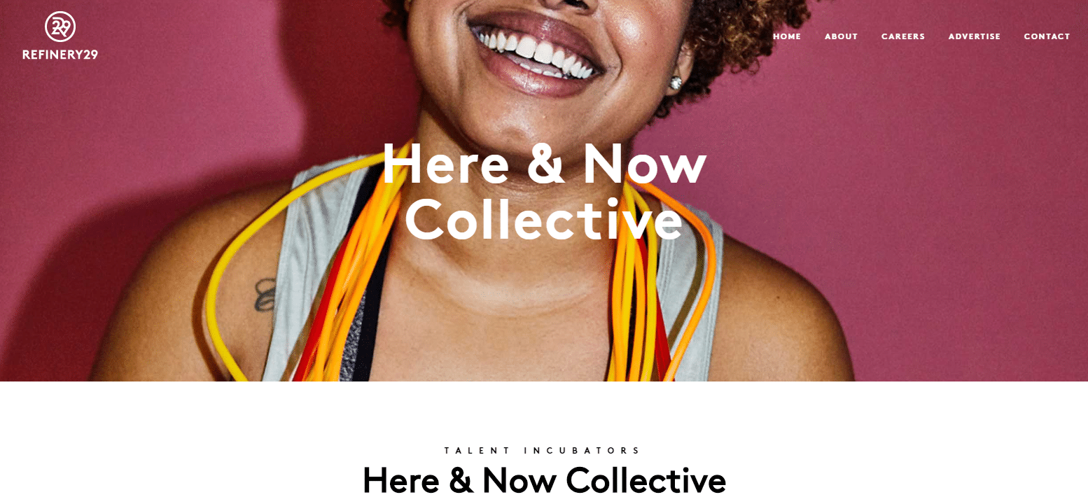 Programa de afiliado de Here & Now Collective