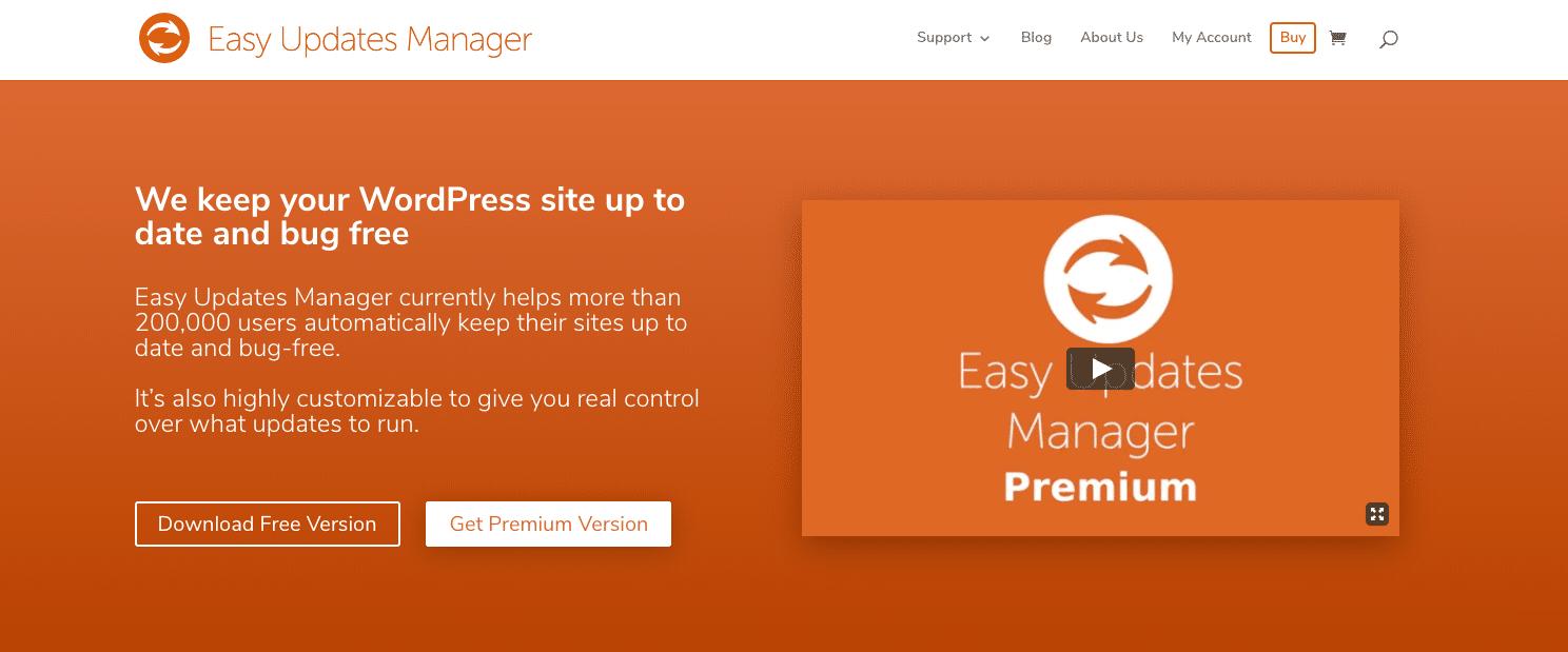 Plugin de Easy Updates Manager