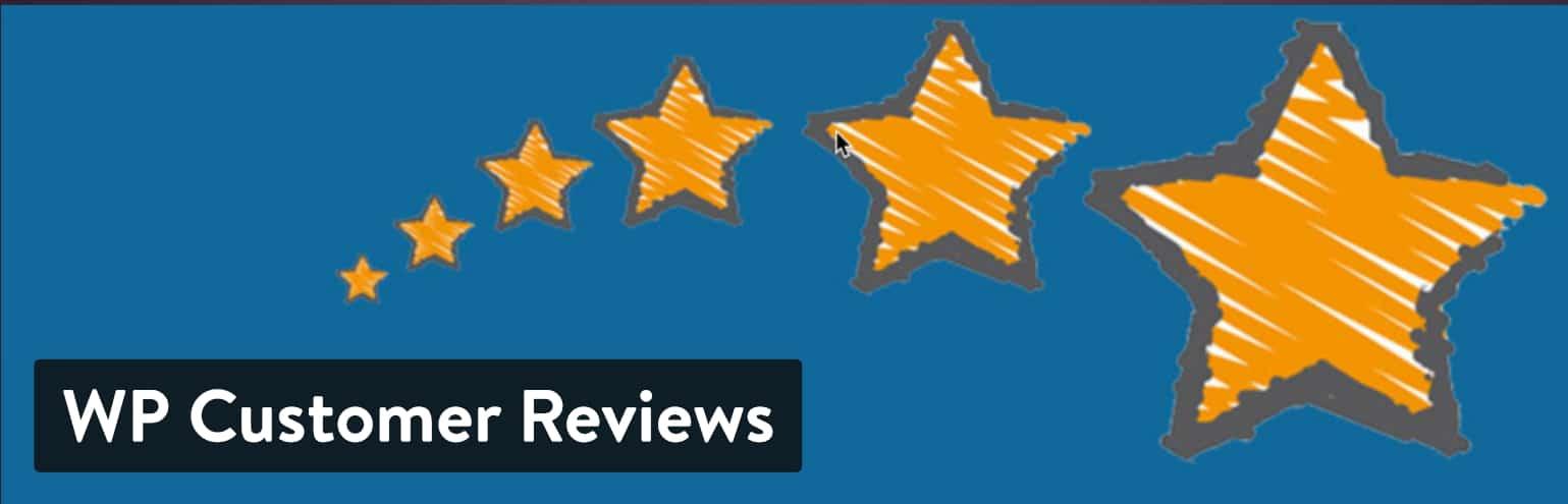 Los Mejores Plugins de Reseñas para WordPress: WP Customer Reviews