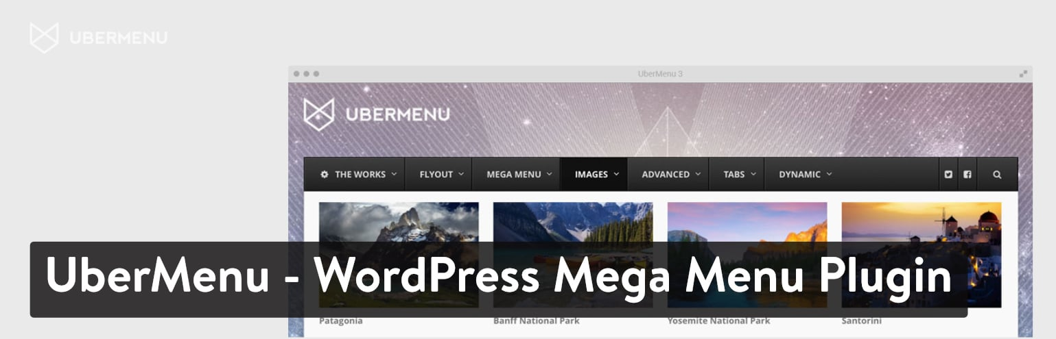 Plugin UberMenu - WordPress Mega Menu