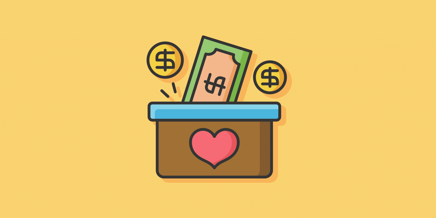 Cómo añadir un botón Donar banda en WordPress (2 opciones gratuitas)