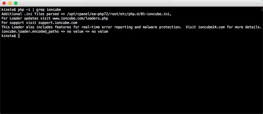 Mostrar información de configuración de PHP