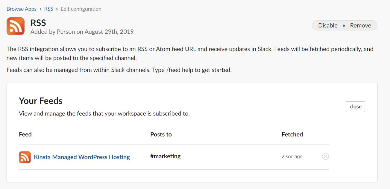 Sus fuentes en Slack