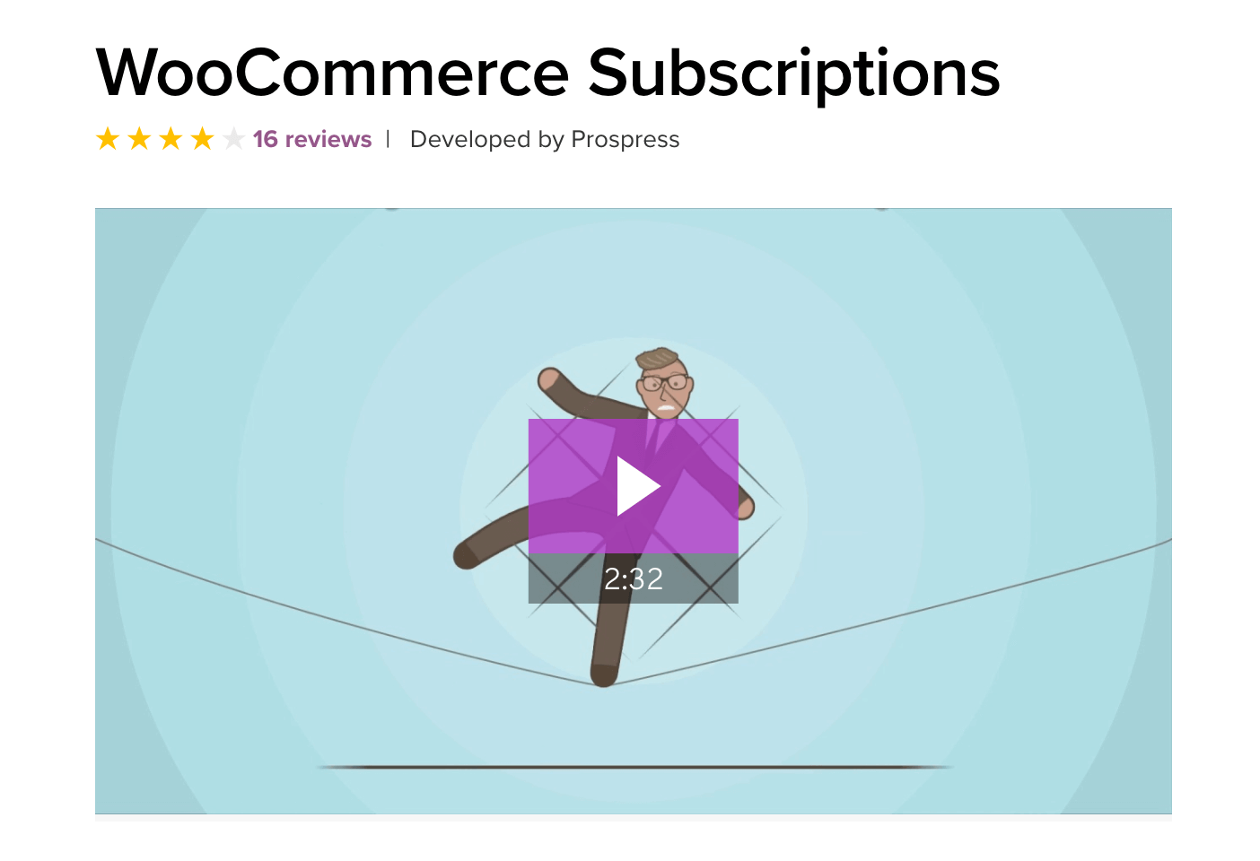 La extensión WooCommerce Subscriptions
