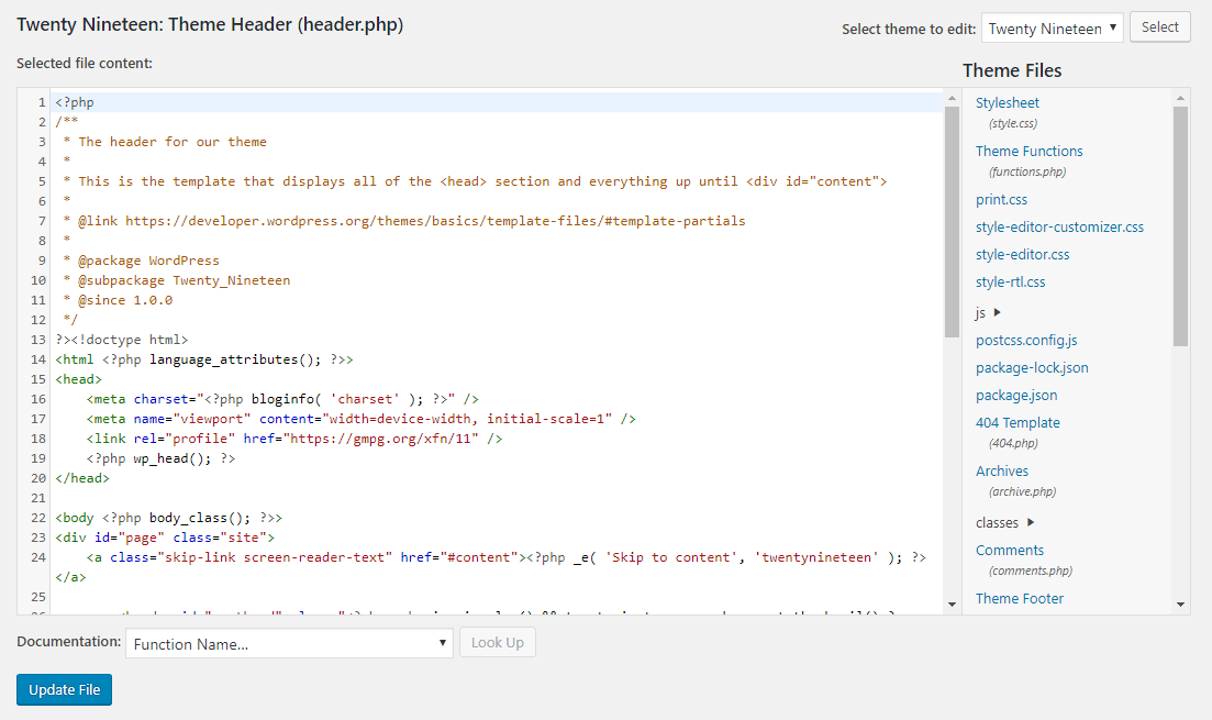 Agregar una divulgación de afiliados a través de un código a WordPress