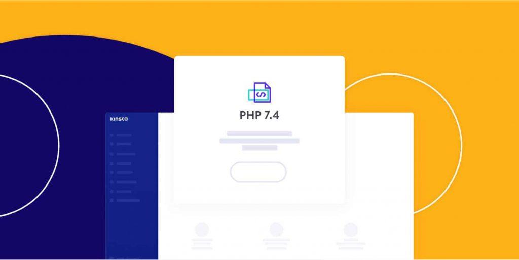PHP 7.4 (versión oficial) ya está disponible en MyKinsta