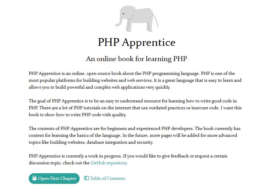 Aprendiz de PHP