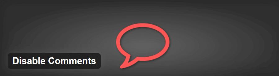 El plugin Disable Comments WordPress 1