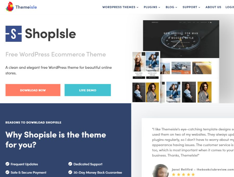 Tema de ShopIsle