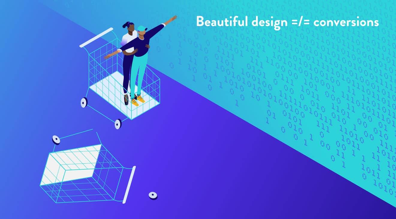 El diseño web está estrictamente conectado a sus objetivos de negocio