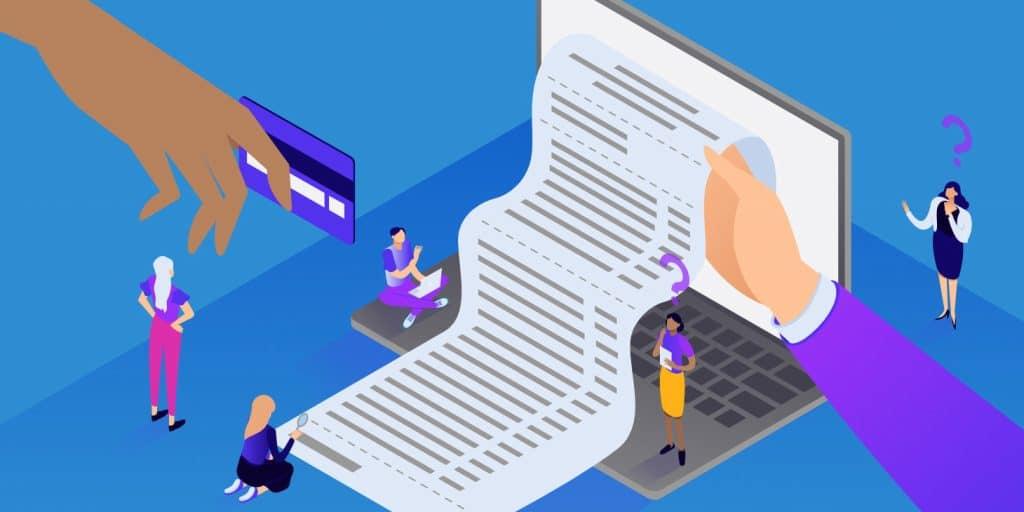 Cómo gestionar los usuarios que reciben correos electrónicos de facturas