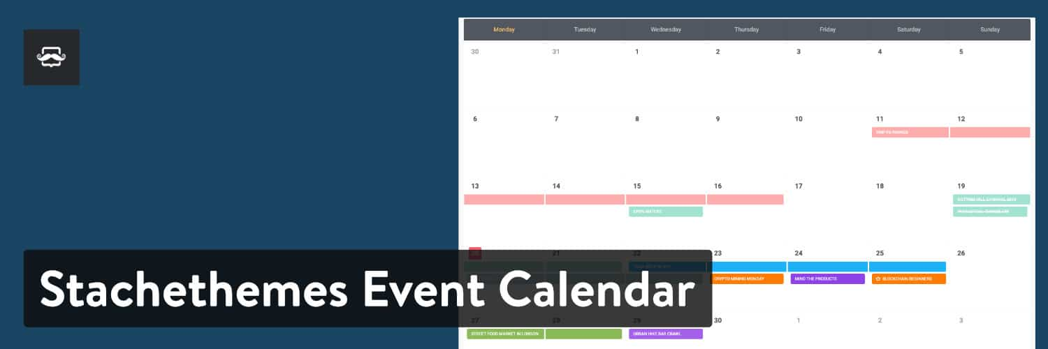 Stachethemes Calendario de eventos WordPress plugin